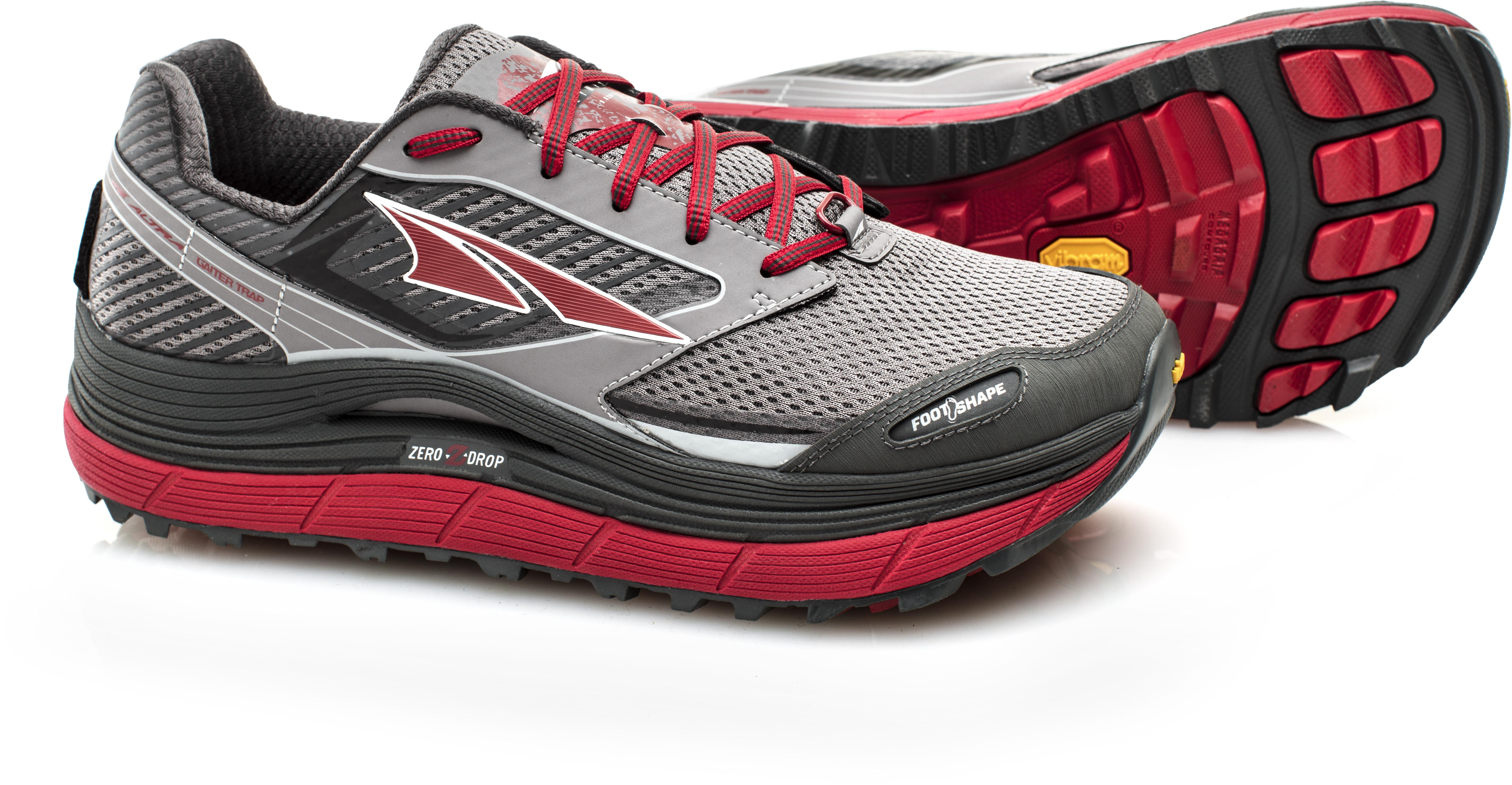 completo nelle specifiche prezzo folle colore veloce Altra Olympus 2.5 scarpe da corsa Uomo, black/red